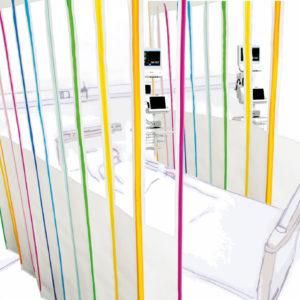 MED-Activ XS Crystal ® – écran avec fenêtre de surveillance