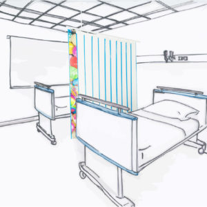 MED-Activ XS ® – écran d'intimité hygiénique et compact