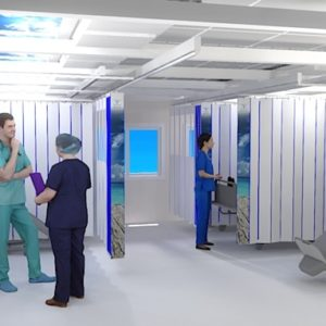 MED-Ambu – box médical modulable