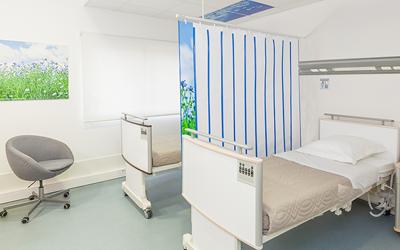 Medicascreen® rideau Med-Activ XS - Chambre d'hopital